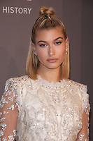 NEW YORK, NY - FEBRUARY 7: Hailey Baldwin at the 2018 amfAR Gala New York honoring Lee Daniels and Stefano Tonchi at Cipriani Wall Street in New work City on February 7, 2018. <br /> CAP/MPI99<br /> &copy;MPI99/Capital Pictures
