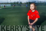 Faye O'Neill of the Park FC who is part of their U12 premier league team as they prepare to play at the Sedriano World Cup in Milan in April.