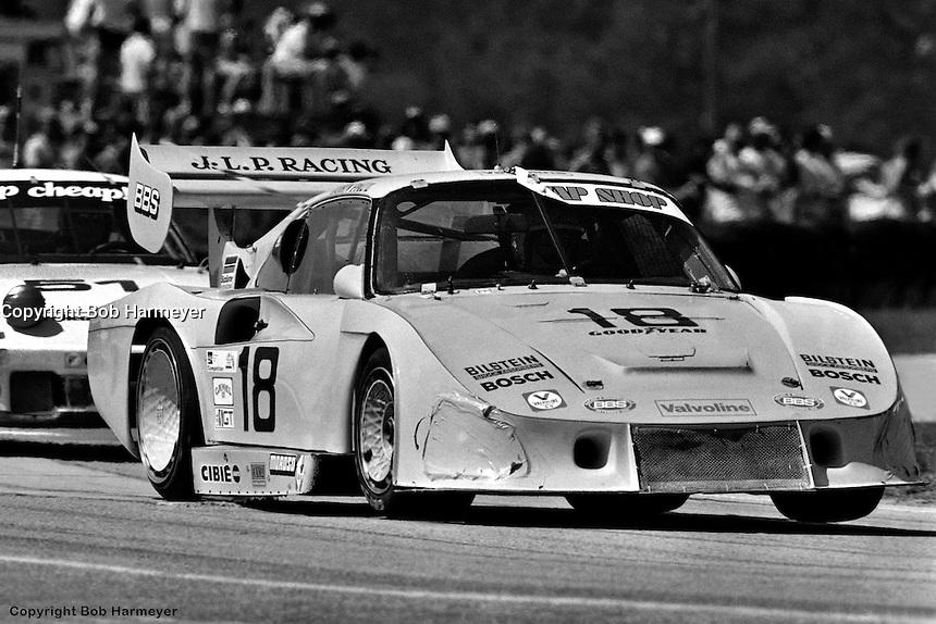 John Paul and John Paul, Jr. drove this Porsche 935 to Sebring's victory lane in 1982.
