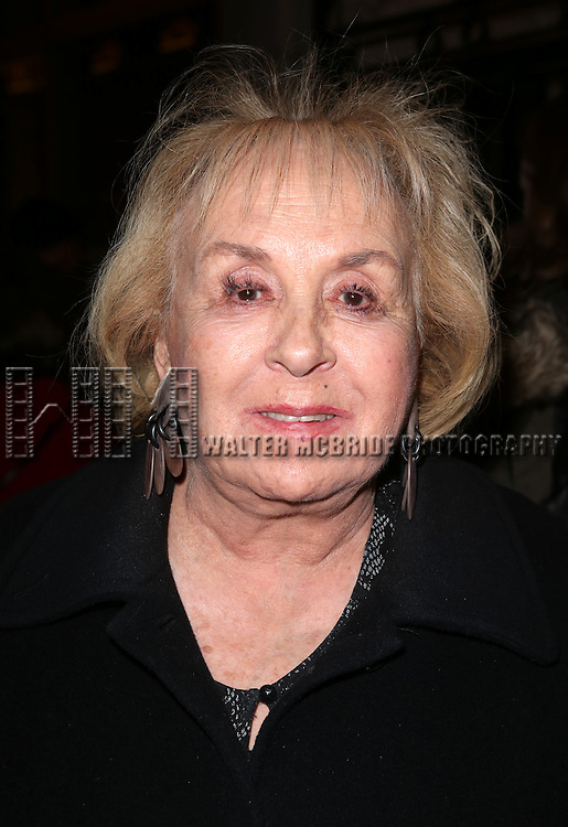 Doris Roberts attends the Broadway Opening Night Performance of 'Twelfth Night' at the Belasco Theatre on November 10, 2013 in New York City.