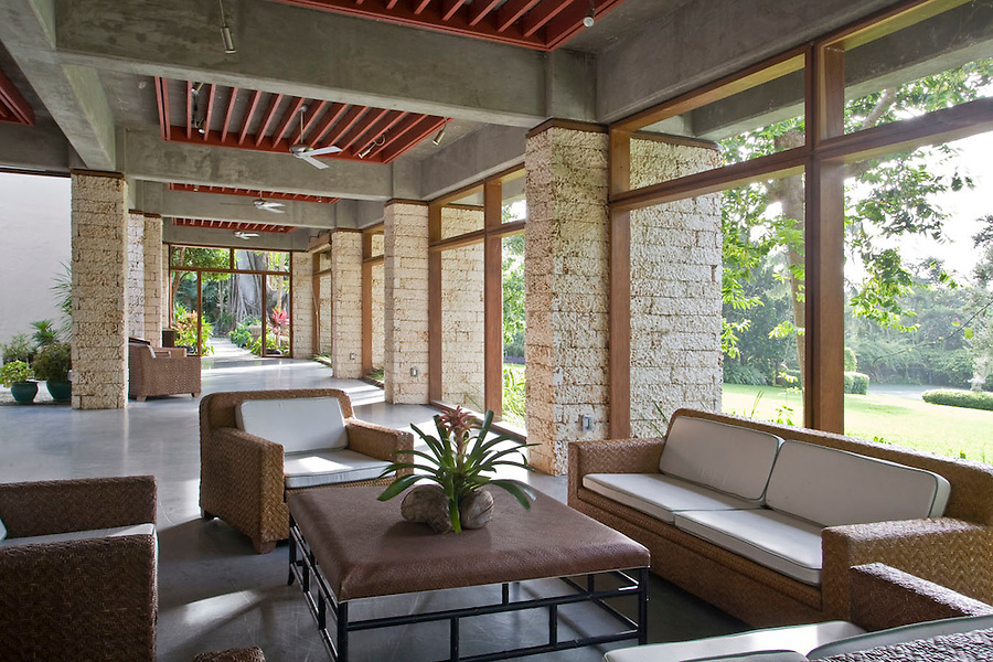 The Kampong, Coconut Grove Florida Design by Max Strang Architecture. Photo by Robin Hill (c)