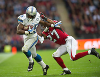 26.10.2014.  London, England.  NFL International Series. Atlanta Falcons versus Detroit Lions. Lions' RB Joique Bell [35] in action.