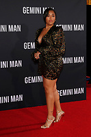 """LOS ANGELES - OCT 6:  Jordyn Woods at the """"Gemini"""" Premiere at the TCL Chinese Theater IMAX on October 6, 2019 in Los Angeles, CA"""