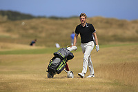 Gregory Royston (Cotswald Downs) on the 12th during Round 2 - Strokeplay of the North of Ireland Championship at Royal Portrush Golf Club, Portrush, Co. Antrim on Tuesday 10th July 2018.<br /> Picture:  Thos Caffrey / Golffile
