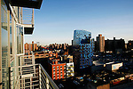 Wednesday January 9th 2008. .New York, New York. United States..View from a room of the the Rivington Hotel .Rivington Street - Lower East Side