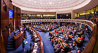 TALLAHASSEE, FLA. 3/3/15- during the opening day of the 2015 Legislative Session Tuesday at the Capitol in Tallahassee.<br /> <br /> COLIN HACKLEY PHOTO<br /> <br /> EDITORS NOTE: This image is comprised of multiple photos taken at the same moment and stitched together in photoshop to make a panoramic photo.