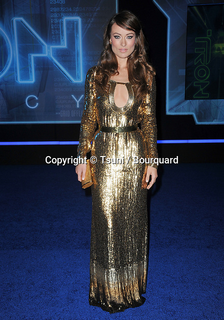Olivia Wilde   - Tron: Legacy Premiere at the El Capitan Theatre In Los Angeles.
