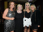 Shauna Synnott celebrating her 21st birthday in The Venue at McHugh's with mother Geraldine and aunts Ann O'Brien and Margaret Woods. Photo:Colin Bell/pressphotos.ie