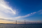 Charleston South Carolina Arthur Ravenel Jr Bridge over the Cooper River