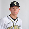 Tim McHugh of Commack poses for a portrait during Newsday's varsity baseball season preview photo shoot at company headquarters in Melville on Friday, March 23, 2018.