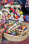 Latin America, Guatemala, Antigua, Souvenir Dolls