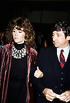 Jane Fonda and Tom Hayden in Los angeles California, 1980.