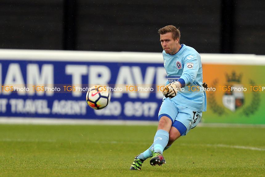 Lewis Moore of Dagenham during Dagenham & Redbridge vs Crystal Palace Under-23, Friendly Match Football at the Chigwell Construction Stadium on 4th November 2017
