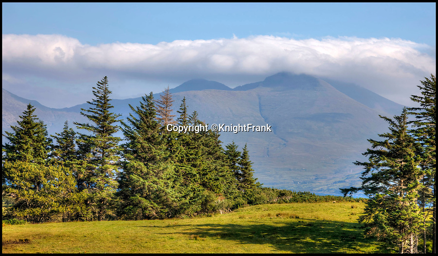 BNPS.co.uk (01202 558833)<br /> Pic: KnightFrank/BNPS<br /> <br /> A coastal path goes around the island, with views over neighbouring Ben More on Mull....<br /> <br /> How the Ulva half live - Escape to your own Scottish island..If you have &pound;4.25 million to spare.<br /> <br /> This stunning Scottish island that inspired writers including Beatrix Potter and Sir Walter Scott has just gone on the market.<br /> <br /> Ulva is the second largest island of the Inner Hebrides at 4,583 acres, but the new owners will have to be happy going back to basics as it can only be reached by ferry, has no tarmac roads and just 16 people live there, mostly farmers.<br /> <br /> It is described by agents Knight Frank as one of the finest private islands in northern Europe and is on the market for the first time in more than 70 years.<br /> <br /> The sale includes a seven-bedroom house, a church, a restaurant and tea room, and eight other properties. There are also farm buildings to support the agricultural and livestock operation.