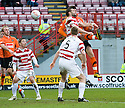 ::  DUNDEE UTD'S ANDIS SHALA HEADS HOME THE EQUALISER ::