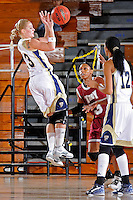 9 January 2010:  FIU's Monika Bosilj (13) shoots a jump shot in the first half as the Troy Trojans defeated the FIU Golden Panthers, 61-59, at the U.S. Century Bank Arena in Miami, Florida.