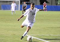 Florida International University men's soccer player Esteban Castro (13) plays against Nova University on August 26, 2011 at Miami, Florida. FIU won the game 2-0. .