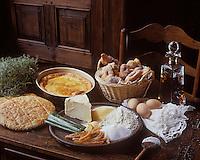Europe/France/Poitou-Charentes/16/Charente/Cognac: Desserts charentais