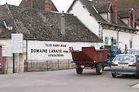 tractor domaine lahaye pere et fils pommard cote de beaune burgundy france