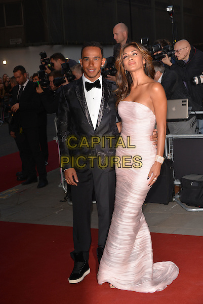 LONDON, ENGLAND SEPTEMBER 02: Lewis Hamilton; Nicole Scherzinger attend the GQ Men of the Year 2014 awards in association with Hugo Boss at The Royal Opera House on September 2, 2014 in London, England.<br /> CAP/PL<br /> &copy;Phil Loftus/Capital Pictures