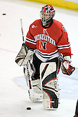 Adam Geragosian (Northeastern - 41) - The Boston College Eagles defeated the visiting Northeastern University Huskies 7-1 on Friday, March 9, 2007, to win their Hockey East quarterfinals matchup in two games at Conte Forum in Chestnut Hill, Massachusetts.