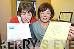 FAIR: Kathleen Morris and Margaret Wrenn of Killorglin Family Resource Centre launching details of the Community and Voluntary Fair to be held on 13th November.   Copyright Kerry's Eye 2008