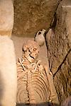 Roman burial display archaeology museum, Jerez de la Frontera, Cadiz Province, Spain