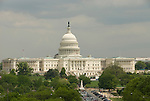 Washington DC; USA: The dome of the Capitol Building, legislative branch of the US government.Photo copyright Lee Foster Photo # 3-washdc80021