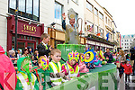 Muckross Community Playgroup float passing through High Street duuring the parade on Monday