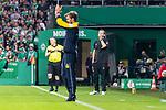 10.08.2019, wohninvest WESERSTADION, Bremen, GER, DFB-Pokal, 1. Runde, SV Atlas Delmenhorst vs SV Werder Bremen<br /> <br /> im Bild<br /> Florian Kohfeldt (Trainer SV Werder Bremen) sauer nach 1:2 Gegentreffer, <br /> <br /> während DFB-Pokal Spiel zwischen SV Atlas Delmenhorst und SV Werder Bremen im wohninvest WESERSTADION, <br /> <br /> Foto © nordphoto / Ewert