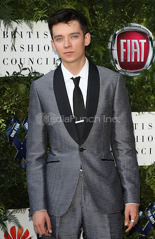 Asa Butterfield at the One For The Boys Charity Ball, Victoria and Albert Museum, London on June 12th 2016<br /> CAP/ROS<br /> &copy;Steve Ross/Capital Pictures /MediaPunch ***NORTH AND SOUTH AMERICAS ONLY***