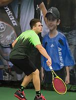 Rotterdam, Netherlands, Januari 24, 2016,  ABNAMROWTT Supermatch, Wilco Geenen (NED)<br /> Photo: Tennisimages/Henk Koster