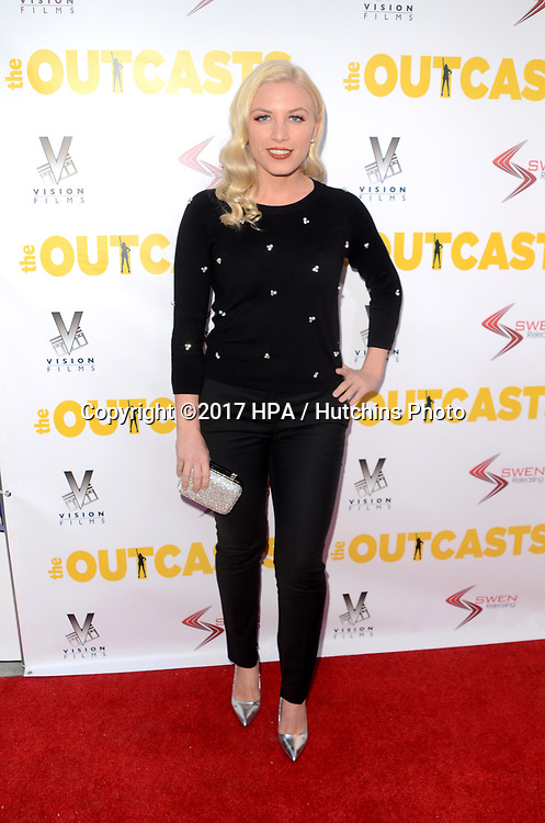"LOS ANGELES - APR 13:  Grace Valerie at the ""The Outcasts"" Premiere at the Landmark Regent Theater on April 13, 2017 in Westwood, CA"
