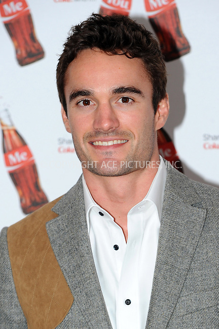 WWW.ACEPIXS.COM....US Sales Only....May 9 2013, London....Thom Evans at the launch of Coca-Cola's Share a Coke campaign at One Marylebone on May 9 2013 in London....By Line: Famous/ACE Pictures......ACE Pictures, Inc...tel: 646 769 0430..Email: info@acepixs.com..www.acepixs.com