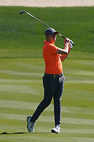 Matthew Fitzpatrick (ENG) on the 8th during Round 1 of the Abu Dhabi HSBC Championship 2020 at the Abu Dhabi Golf Club, Abu Dhabi, United Arab Emirates. 16/01/2020<br /> Picture: Golffile | Thos Caffrey<br /> <br /> <br /> All photo usage must carry mandatory copyright credit (© Golffile | Thos Caffrey