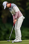 Hyo Joo Kim of Korea in action during the Hyundai China Ladies Open 2014 Pro-am on December 10 2014, in Shenzhen, China. Photo by Aitor Alcalde / Power Sport Images