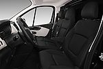 Front seat view of 2017 Nissan NV300 Optima 4 Door Cargo Van Front Seat  car photos