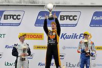 2019 British Touring Car Championship. Race three podium.