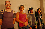 Rock supergroup, Audioslave, pose for a portrait session.