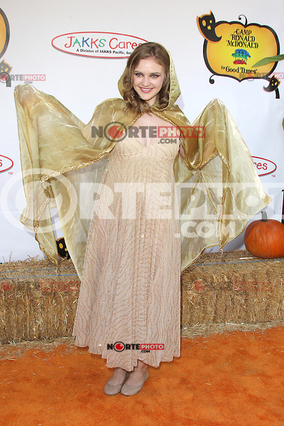 UNIVERSAL CITY, CA - OCTOBER 21:  Kaitlyn Jenkins at the Camp Ronald McDonald for Good Times 20th Annual Halloween Carnival at the Universal Studios Backlot on October 21, 2012 in Universal City, California. ©mpi28/MediaPunch Inc. /NortePhoto