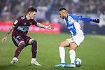 CD Leganes's  Youssef En-Nesyri (R) and RC Celta de Vigo's Dimitrios Siovas during La Liga match 2019/2020 round 16<br /> December 8, 2019. <br /> (ALTERPHOTOS/David Jar)