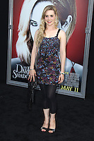 Alison Lohman at the premiere of Warner Bros. Pictures' 'Dark Shadows' at Grauman's Chinese Theatre on May 7, 2012 in Hollywood, California. © mpi26/ MediaPunch Inc.