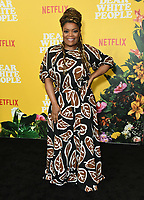 "01 August 2019 - Los Angeles, California - Yvette Nicole Brown. Netflix's ""Dear White People"" Season 3 Los Angeles Premiere held at TRegal Cinemas LA Live. Photo Credit: Birdie Thompson/AdMedia"
