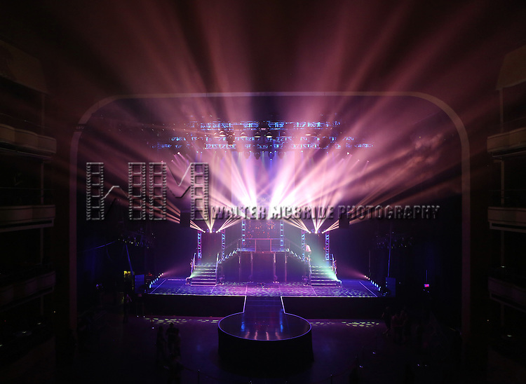 Stage and Atmosphere at Broadway Cares/Equity Fights AIDS' <br /> &quot;Broadway Bares, Rock Hard!&quot; at Hammerstein Ballroom June 22, 2014 in New York City.