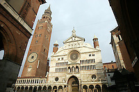 La Cattedrale di Santa Maria Assunta a Cremona.<br /> View of the Cathedral of Santa Maria Assunta, in Cremona.<br /> UPDATE IMAGES PRESS/Riccardo De Luca