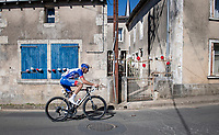 solo breakaway rider Matthieu Ladagnou (FRA/Groupama-FDJ)<br /> <br /> Stage 11 from Châtelaillon-Plage to Poitiers (168km)<br /> <br /> 107th Tour de France 2020 (2.UWT)<br /> (the 'postponed edition' held in september)<br /> <br /> ©kramon