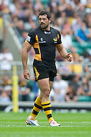 Andrea Masi of London Wasps during the Aviva Premiership match between London Wasps and Harlequins at Twickenham on Saturday 1st September 2012 (Photo by Rob Munro).
