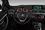 Car pictures of steering wheel view of a 2017 BMW 3-Series-GT Sport 5 Door Hatchback Steering Wheel