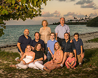 Marguerite White family at Somerset Long Bay.