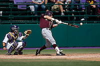 April 5, 2009: Arizona State Sun Devils outfielder Jason Kipnis connects with a pitch during a Pac-10 game against the University of Washington at Husky Ballpark in Seattle, Washington.